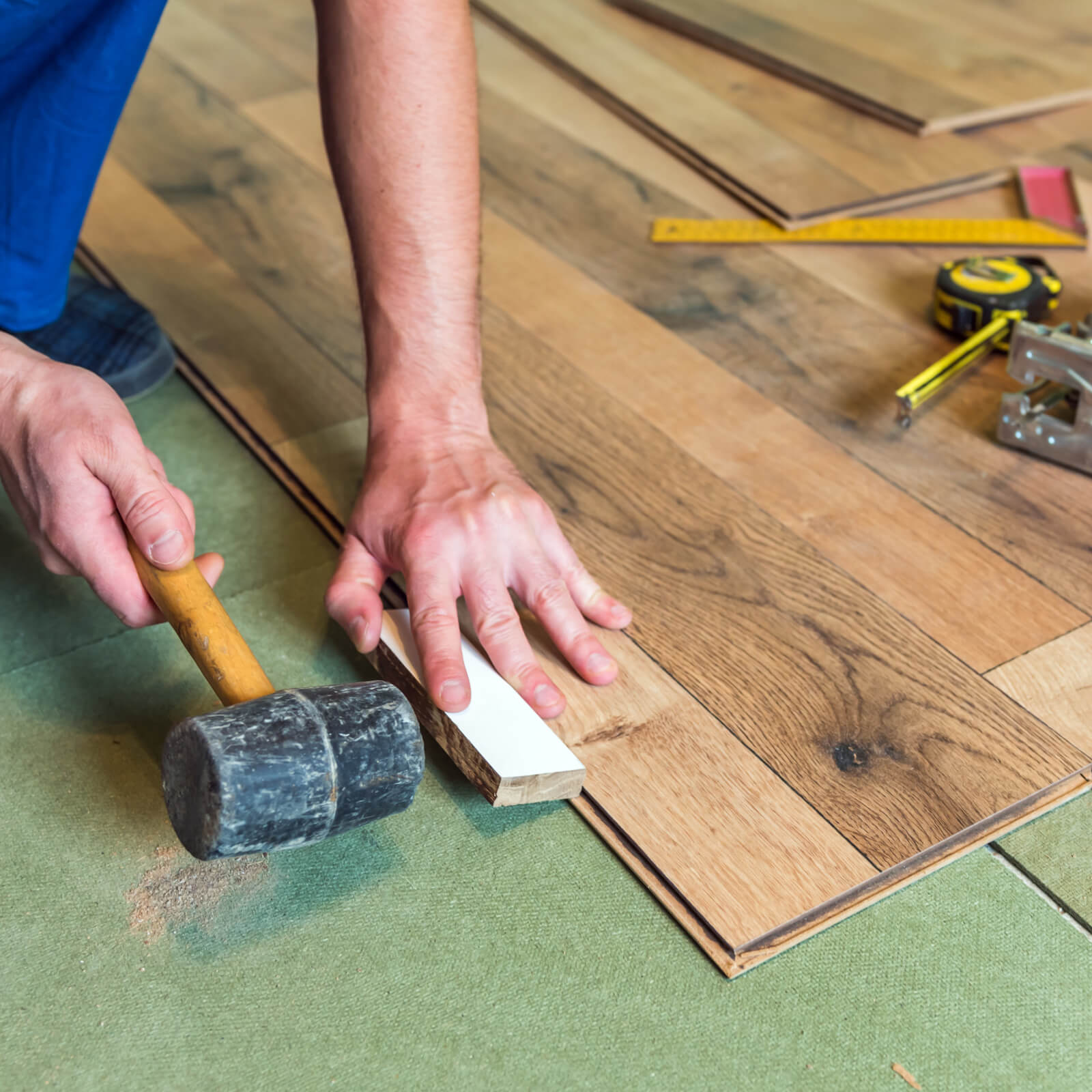 Laminate installation | Shelley Carpets