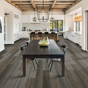 Dining room Laminate flooring | Shelley Carpets