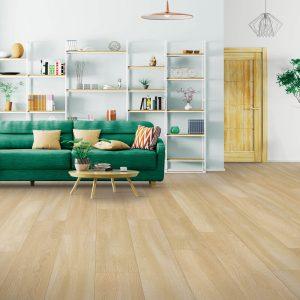 Laminate flooring of living room | Shelley Carpets