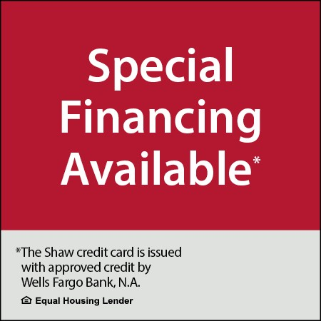 Special financing available banner   Shelley Carpets