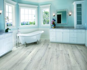 Luxury Master Bathroom with standing bath tub | Shelley Carpets