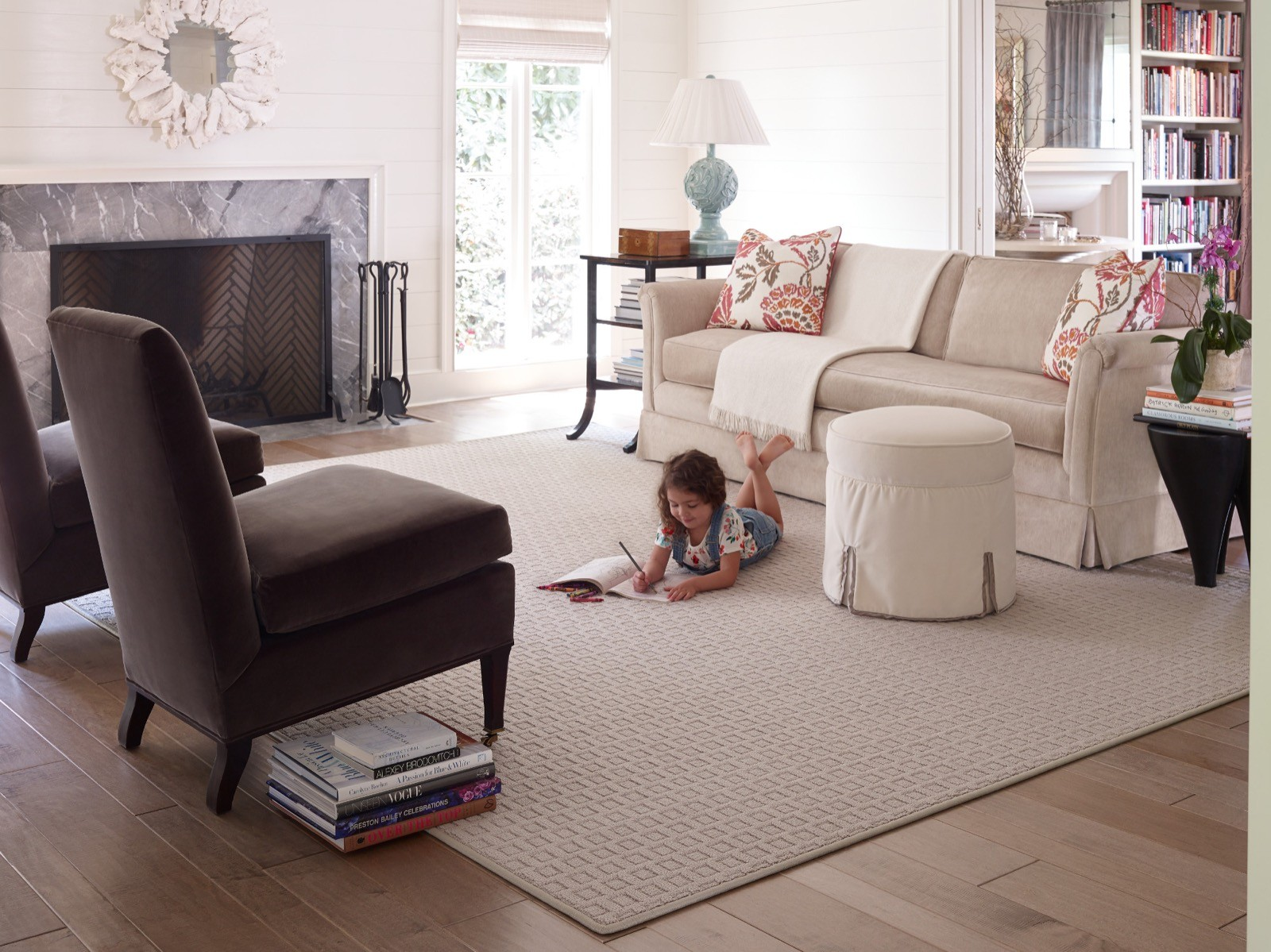 Kid on Carpet | Shelley Carpets