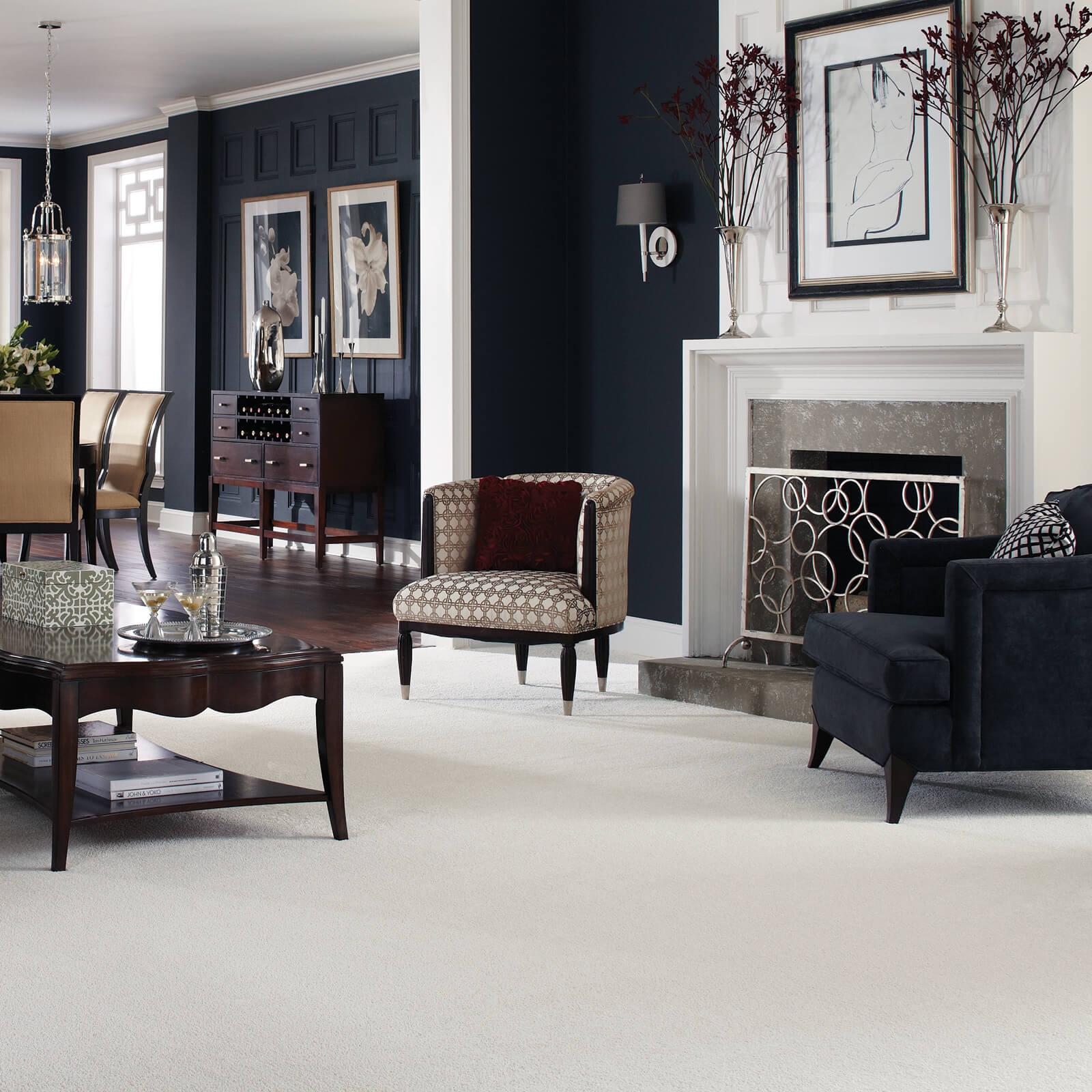 Living room Carpet flooring | Shelley Carpets