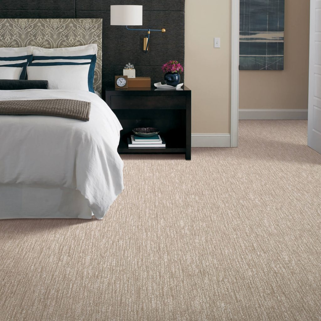 New carpet in bedroom | Shelley Carpets