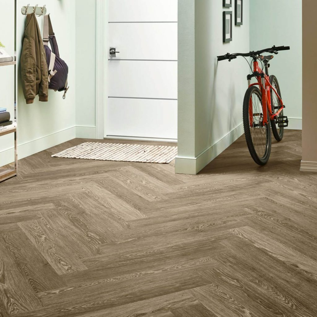 Bicycle on flooring | Shelley Carpets