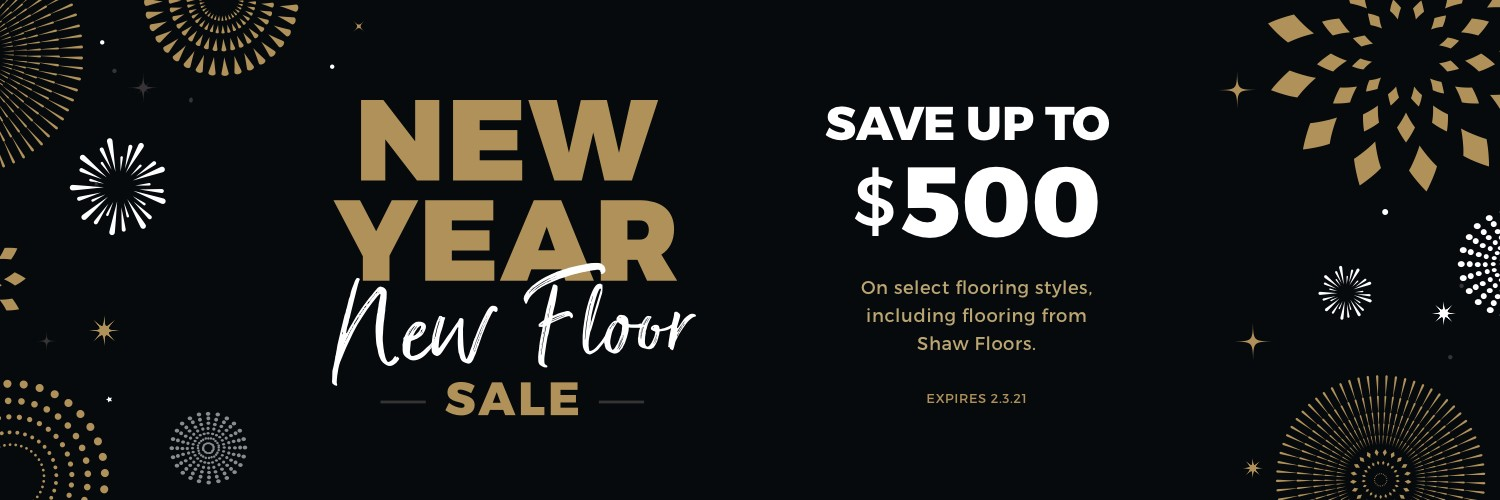 New Year New Floors Sale | Shelley Carpets