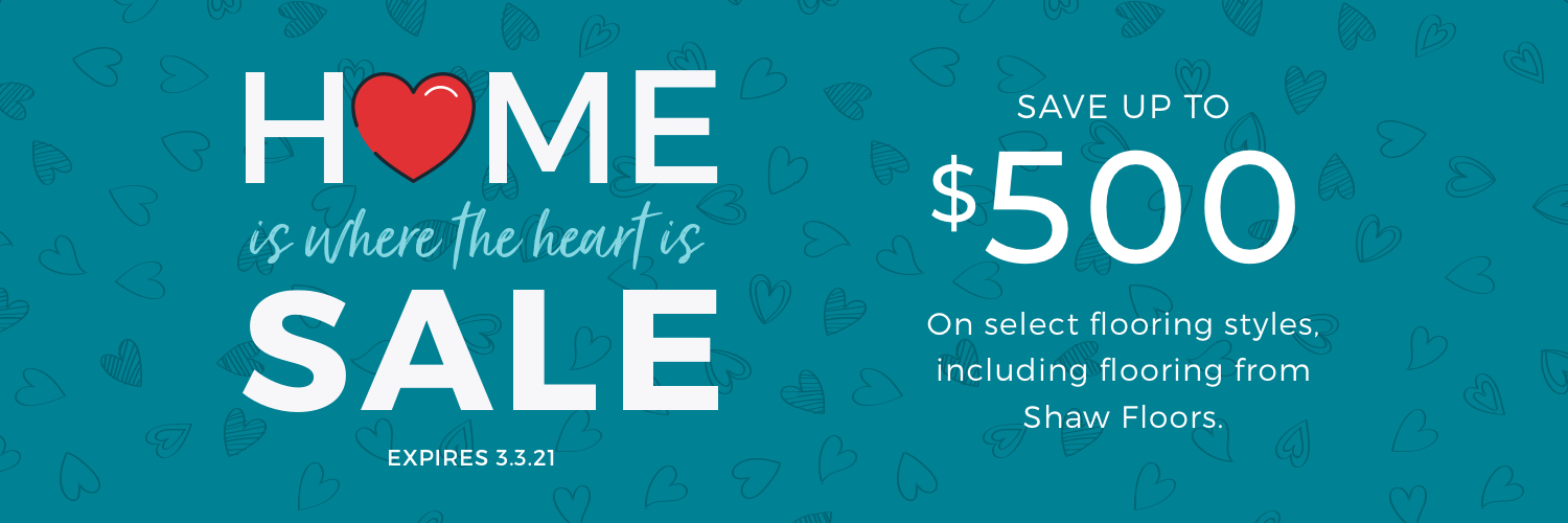 Home is Where the Heart is Sale | Shelley Carpets